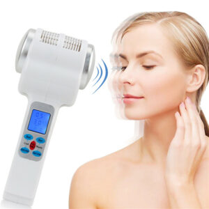 Ultrasonic cryotherapy hot and cold hammer